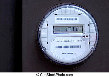 Smart Meter 2 - A digital electric utility meter,Smart...