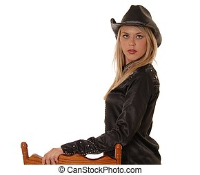 Cowgirl Two - Lovely western dressed girl