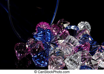 Diamonds - Photo of Crystals / Diamonds