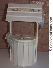 Wishing Well - A wedding wishing well for guests to deposit...