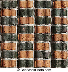 Brick Seamless 11 - Seamlessly tileable photo of a brick...