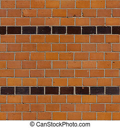 Brick Seamless 9 - Seamlessly tileable photo of a brick...