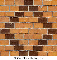 Brick Seamless 6 - Seamlessly tileable photo of a brick...