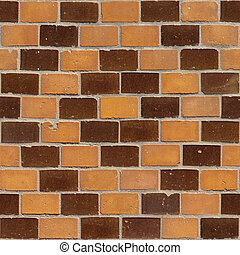 Brick Seamless 4 - Seamlessly tileable photo of a brick...