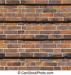 Brick Seamless 3 - Seamlessly tileable photo of a brick...