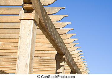 Wooden frame 1 - Wooden frame support