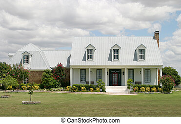 Modern Ranch House - Extremely colorful ranch-style house...