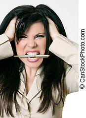 Business rage - Overworked and over it!