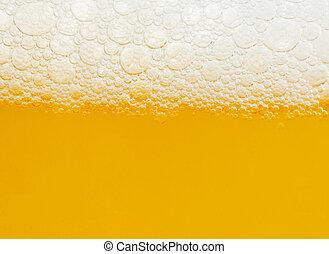 Beer - Macro of a beer