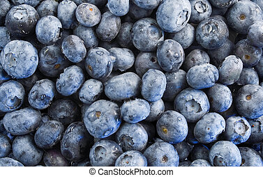 Blueberries texture