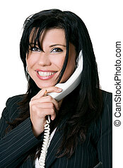 Friendly telephone manner - Friendly customer service.