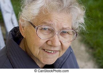 Grandma - Smiling grandma