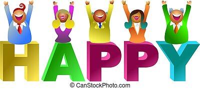 happy word