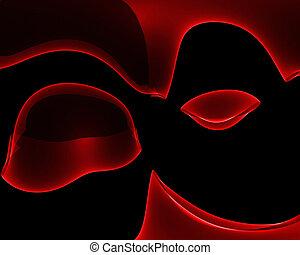 red revolution - red luxury background