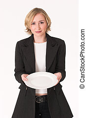 Plate 2 - Pleading for food when business is bad