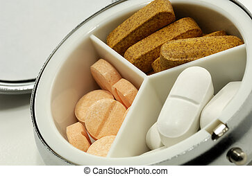 Pill Case - Photo of a Pill Case