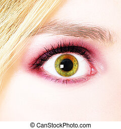 Womans Eye - Picture of a womans eye