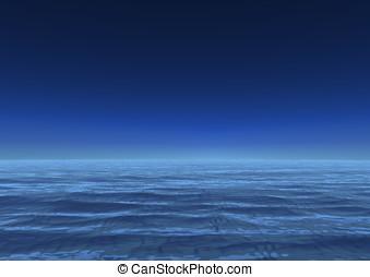 Infinite ocean sea - Infinite ocean Infinite sea Calm sea,...