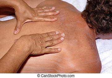 Massage - Woman receiving massage