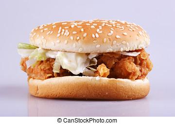 Burger close up