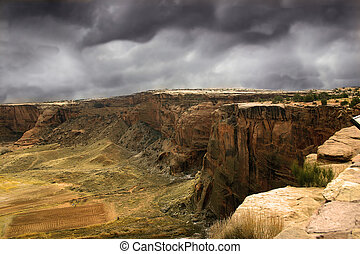 Stormy Canyon