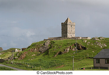 st clements church - St Clements Church at Roghadal, South...