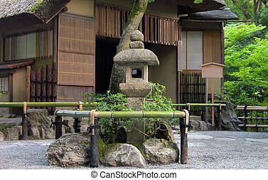 Japanese tea house - Very traditional Japanese tea house...