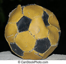 worn-out football 2