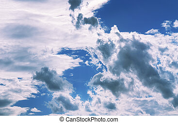 Clouds - Summer cloud formation