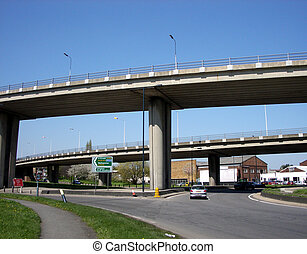 bridge33 - This is a Motorway bridge junction in South...