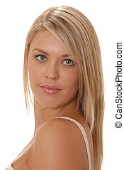 Lovely Young Lady Tw - Portrait of a beautiful girl
