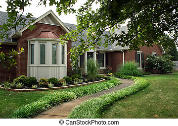 House - Landscaped home