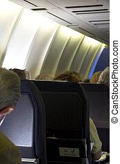 airplane Passenger View