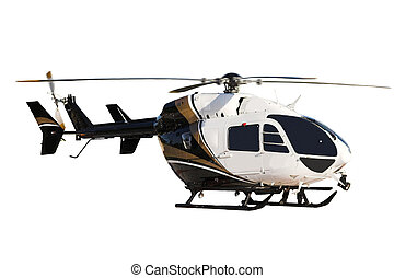 helecopter (isolated) - helecopter ( isolated ) Right side