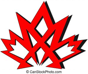 maple leaf - rendition of the maple leaf