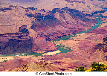 Grand Canyon - Beautiful landscape of the Grand Canyon...