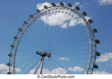 London eye - Two thirds of London eye