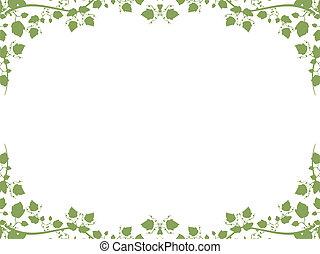 Foliage border - Foliage style border