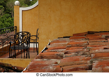 Patio and Tile Roof - Veranda Tile Roof