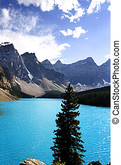 moraine lake - Banff Alberta