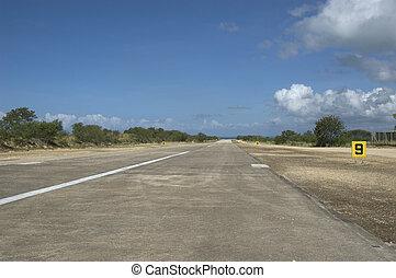 Airstrip in Pagbilao, Quezon, Philippines
