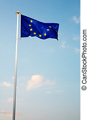 Cannes #61 - The blue European Union flag
