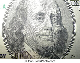 Ben Franklin - Benjamin Franklin appearing on an American...