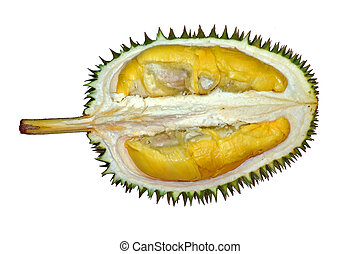spiky fruit - Durian the king of fruits