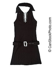 Black female short dress - Nice black female short dress...