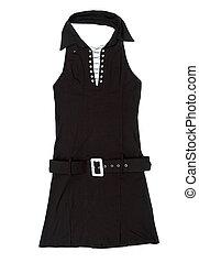 Black female short dress - Nice black female short dress...