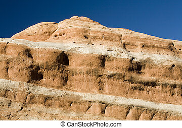 Stock Photo of Red Rock Formation, Arches National Park -...