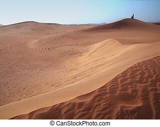 sand dunes - dunes