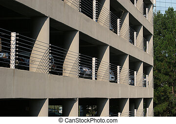 Parking Deck - Cars in Car Park