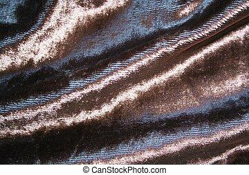 Velvet - closeup of soft velvety fabric